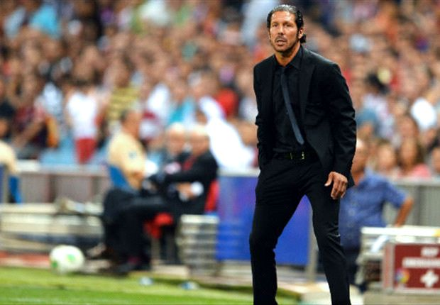 Simeone: Atletico can't compete with Barcelona