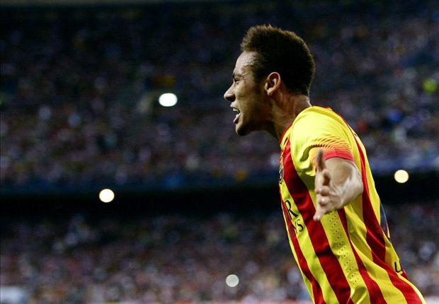 Neymar ziet Messi de gouden bal winnen
