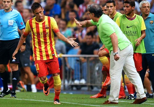Martino: I want to play Neymar with Messi, but we must be careful