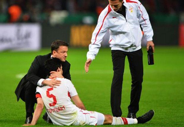 Bobic tröstet den verletzten Serdar Tasci