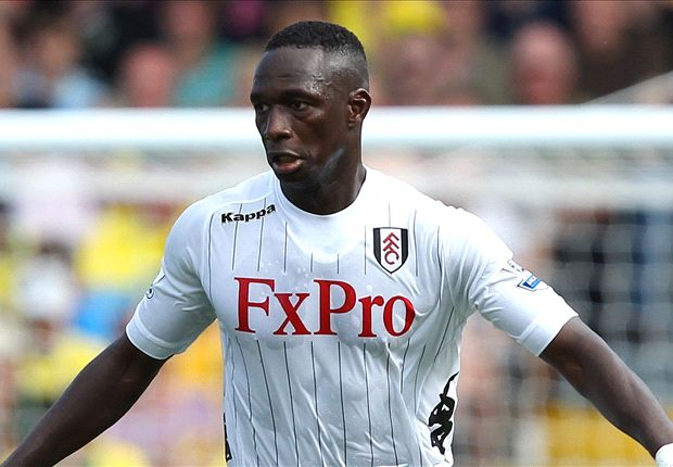 Mahamadou Diarra back training with Fulham