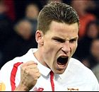 Gameiro earns Sevilla draw at Shakhtar