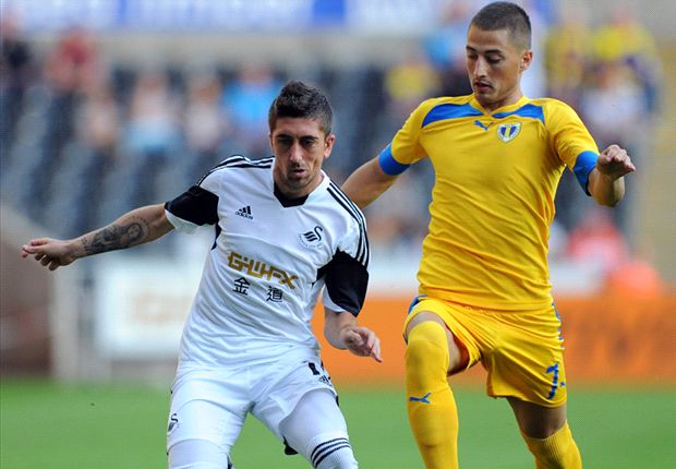 Petrolul Ploiesti 2-1 Swansea (agg 3-6): Laudrup's men progress despite defeat in Romania