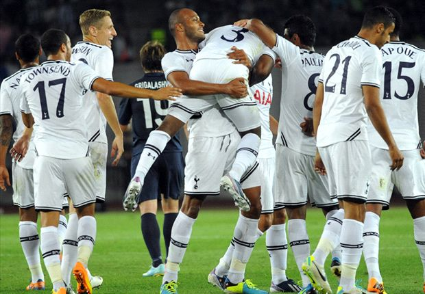 Dinamo Tbilisi 0-5 Tottenham: Townsend shines in Georgian rout