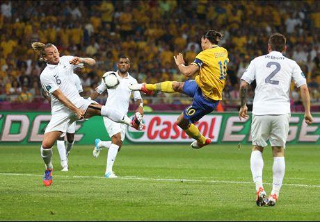 The F2Freestylers recreate Zlatan goal
