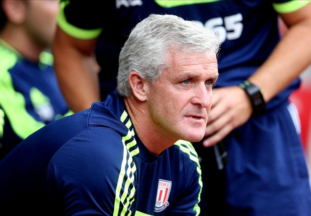 Mark Hughes asks for patience from Stoke fans