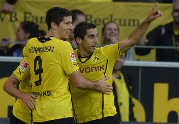 Borussia Dortmund hofft auch gegen Eintracht Frankfurt auf den Sieg