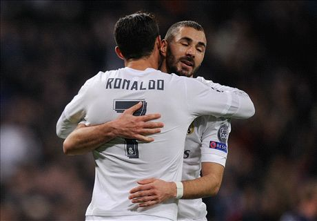 'Benzema & CR7 doubts for Man City'