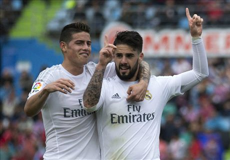 Zidane doesn't trust James and Isco