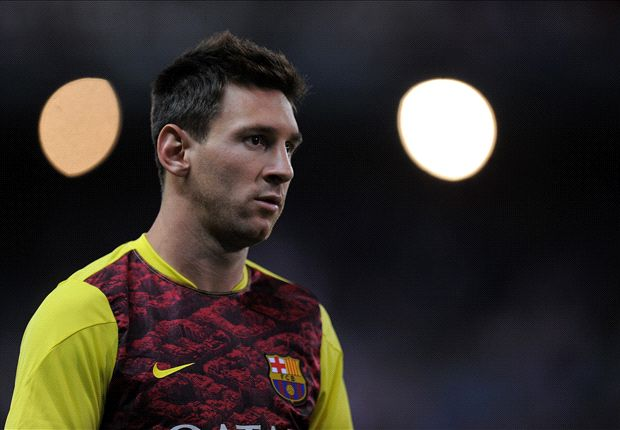 Lionel Messi sufre una hematoma intramuscular en la pierna izquierda.