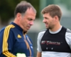 Steven Gerrard questionable after picking up injury