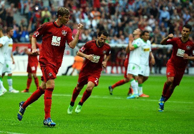 Leverkusen blijft in spoor van Bayern