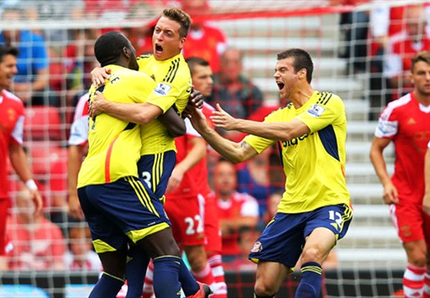 Southampton 1-1 Sunderland: Late Fonte header saves point for Saints