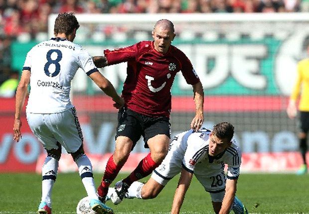 Hannover jubelt und gewinnt nach Kampfspiel gegen Schalke 04