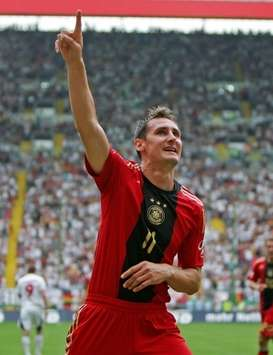 Friendly: Germany - Belarus, Miroslav Klose (firo)