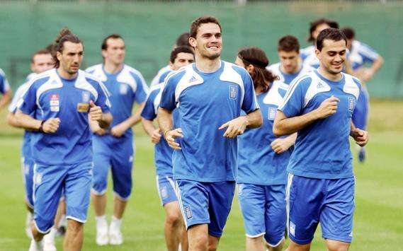 Kyrgiakos Tziolis Vyntra - Greek national team training (INTIME)