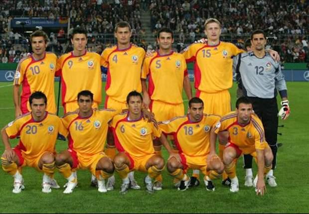 Romanian Soccer Team International Friendly...