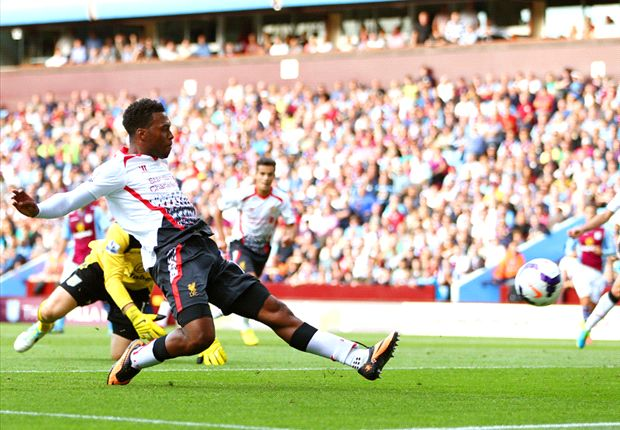 Aston Villa 0-1 Liverpool: Sturridge strike enough for Reds to maintain perfect start