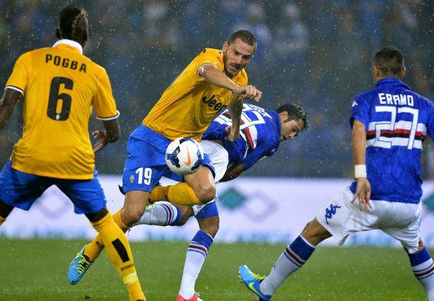 Cetak Gol Kemenangan Juventus, Debut Carlos Tevez Sempurna