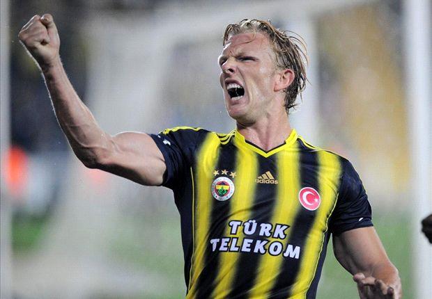 Dirk Kuyt war der Matchwinner für Fenerbahce gegen Eskisehirspor