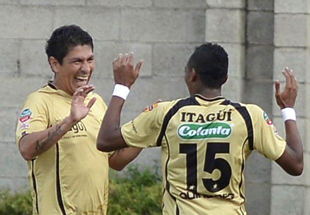 Itagüí se aprovechó del mal momento de Quindío y lo venció 0-1