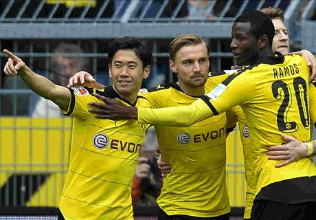 REPORT: BVB hit five past Wolfsburg