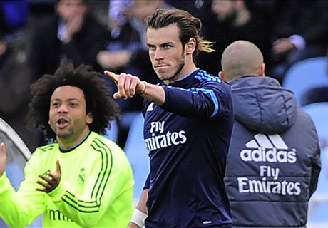 Bale plays the Ronaldo role