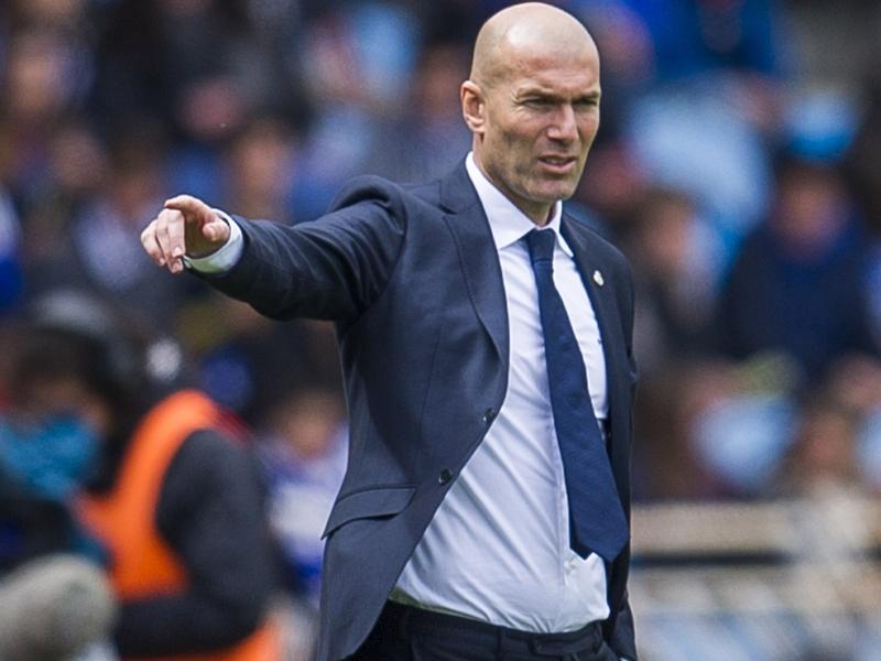 """Real Madrid, Zidane : """"Y croire jusqu'au bout"""""""