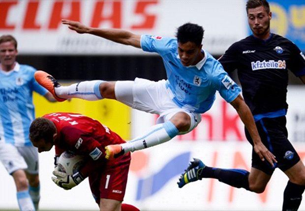 Da half auch fliegen nicht: 1860 München verlor beim SC Paderborn
