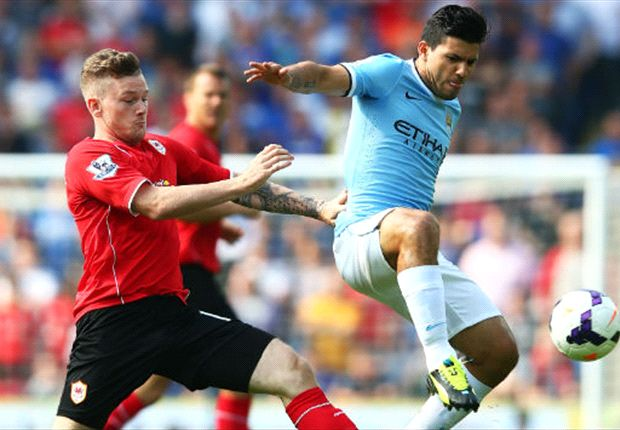 Manchester City favourites for Premier League title, says Aguero