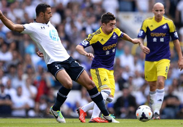 Die Tottenham Hotspur empfingen Swansea City