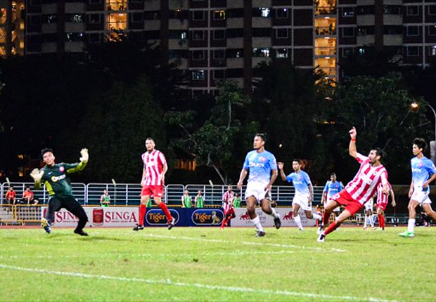 Young Lions finally nab first league win in upset over Jaguars