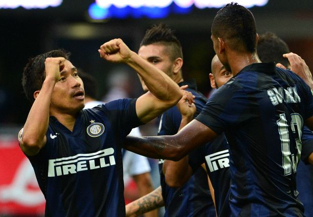 Inter 2-0 Genoa: Nagatomo & Palacio net Nerazzurri season-opening win
