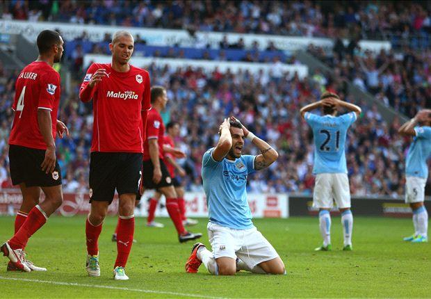 Pellegrini bemoans defensive errors after Cardiff defeat