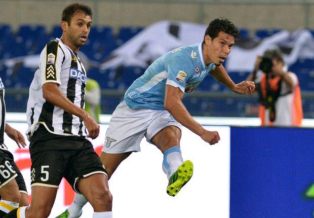 Il goal di Hernanes contro l'Udinese, prima rete del verdeoro nel 2013/2014