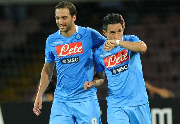 Callejon thrilled with debut goal for Napoli