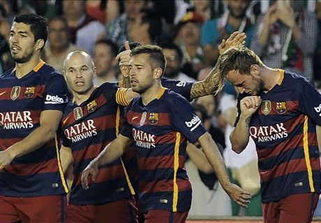 Tired Barca nearing title