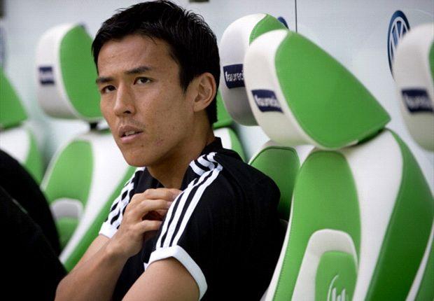 War mit dem Platz auf der Bank beim VfL nicht mehr zufrieden: Makoto Hasebe