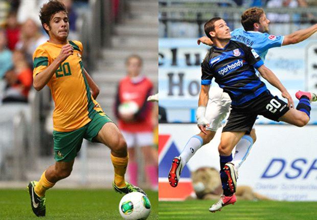 Daniel De Silva and Mathew Leckie may have caught Holger Osieck's eye