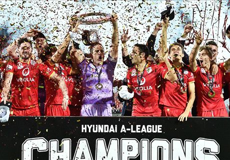Adelaide 3 Wanderers 1: Reds seal maiden A-League title