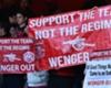 Fanproteste gegen Arsene Wenger
