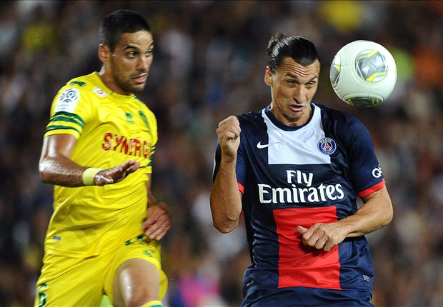 Ibrahimovic enjoying PSG pressure