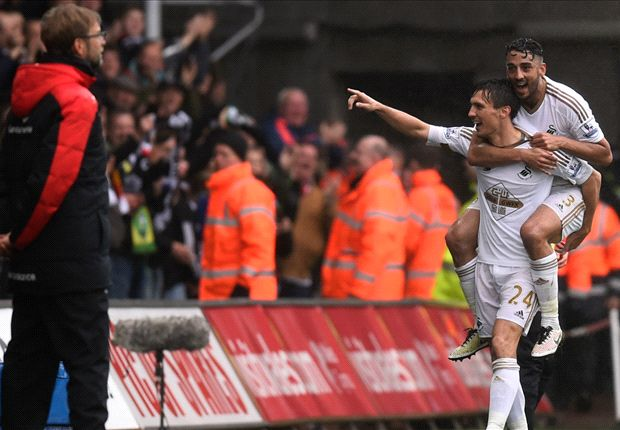 When it rains it pours! Sorry Liverpool get exactly what they deserve at Swansea