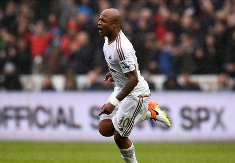 REPORT: Ayew double sinks Liverpool