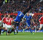 FT: Manchester United 1-1 Leicester