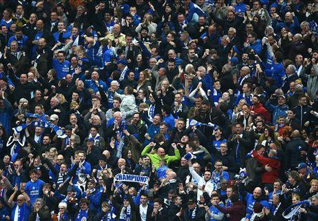 El mundo del fútbol felicita al Leicester