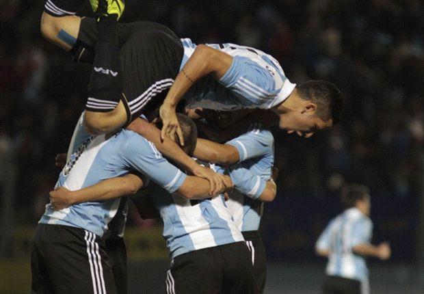 La Selección argentina Sub 17 quiere repetir el festejo del Sudamericano
