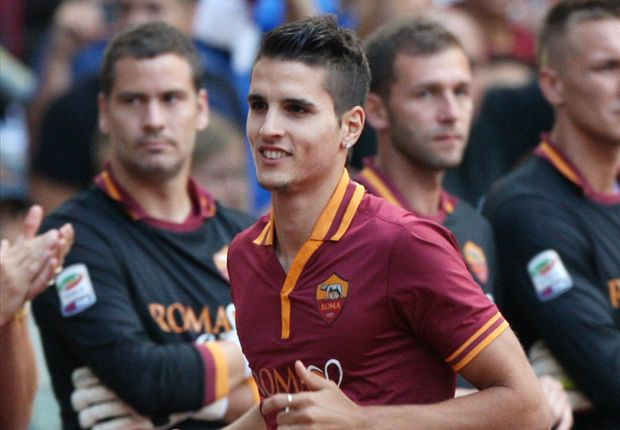 Lamela fue presentado en el Estadio Olímpico y fue al banco ante el Livorno, pero no se quedará.