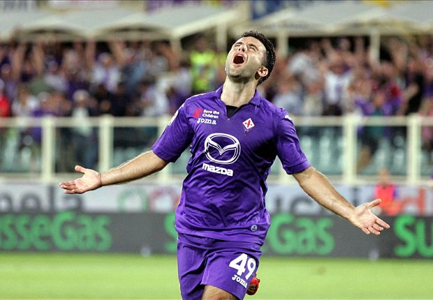 Fiorentina 2-1 Catania: Rossi & Pizarro give hosts the points
