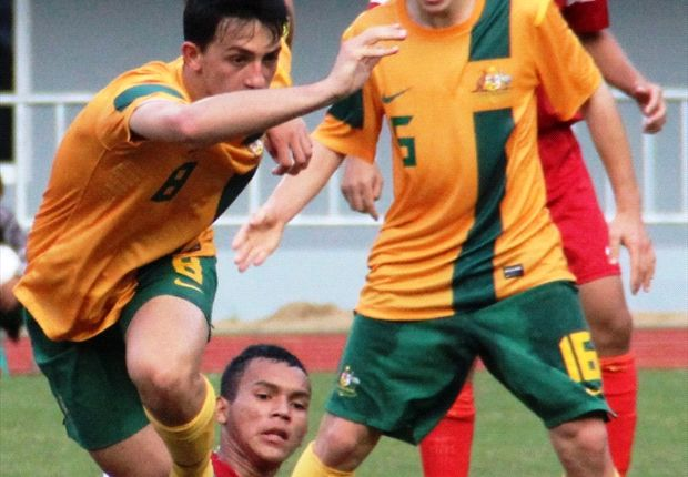 Australia's participation in AFF tournaments was restricted to youth teams before their induction